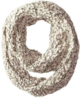 San Diego Hat Company BSS1509 Plus Texture Infinity Scarf with Gold Sequins Scarves