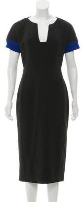 Antonio Berardi Short Sleeve Midi Dress w/ Tags