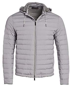 Ermenegildo Zegna Men's Hooded Puffer
