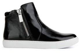 Kenneth Cole New York Kiera Patent Leather High Top Sneakers