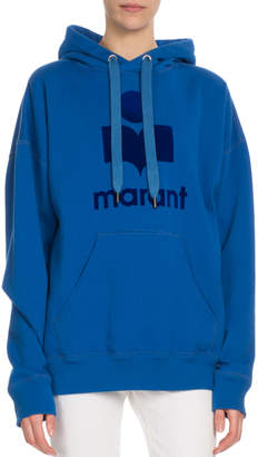 Etoile Isabel Marant Mansel Hooded Logo Graphic Sweatshirt
