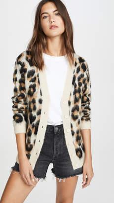 Moschino Leopard Cardigan