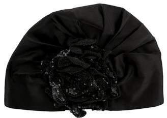 Gucci Satin Embellished Turban