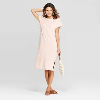 Universal Thread Women's Short Sleeve Crewneck Midi T-Shirt Dress - Universal ThreadTM