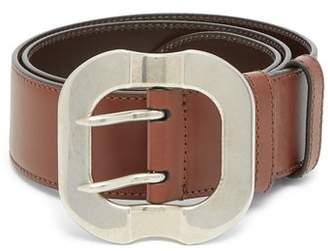 Miu Miu Leather Belt - Womens - Tan