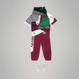 Burberry Graffiti Print Jersey Sweatpants