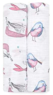 Aden Anais Baby's Natchie Set of Two Benita Bird Cotton Swaddles