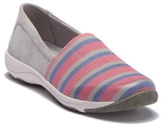 Dansko Harriet Contrast Suede Slip-On Sneaker