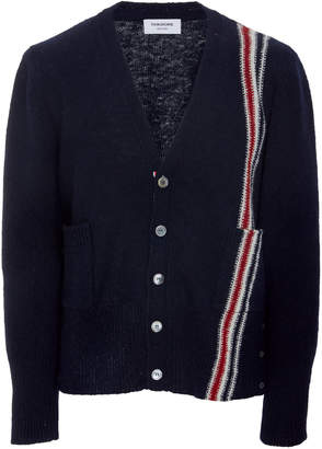 Thom Browne Classic Jersey V-Neck Cardigan