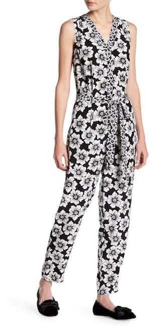 kate spade new york Silk Blend Hollyhock Jumpsuit