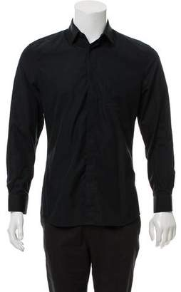 Givenchy Accented Collar Button-Up Shirt
