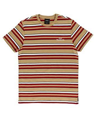 HUF Men's Malibu Ss Stripe Shirt