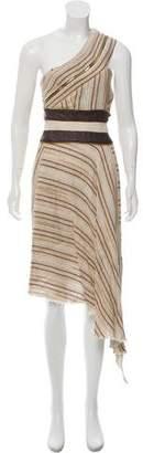 Sophie Theallet Linen-Blend Dress