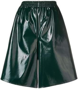 MM6 MAISON MARGIELA high gloss culottes
