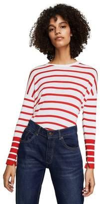 MANGO Red Striped 'Laurel' Sweater