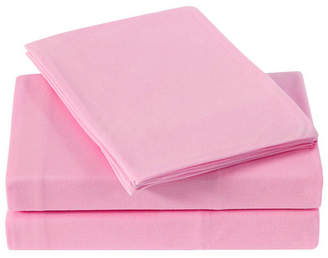 Truly Soft Solid Jersey Queen Sheet Set Bedding