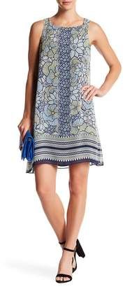 Max Studio Crepe Shift Dress