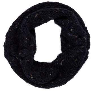 Rebecca Taylor Metallic Knit Snood