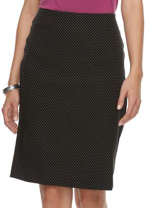 Elle Women's Pull-On Pencil Skirt