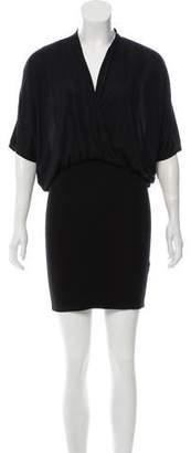 Helmut Lang HELMUT Short Sleeve Mini Dress
