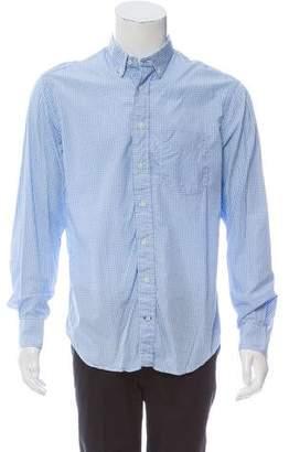 Gitman Brothers Gingham Button-Up Shirt