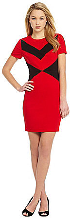 Vince Camuto Chevron Sheath Dress