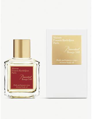 Francis Kurkdjian Baccarat Rouge 540 scented body oil 70ml