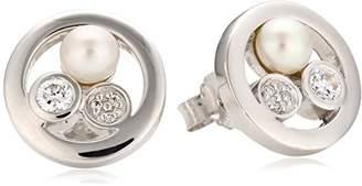 Alvina Alivna Women's Earring Silver with Cubic Zirconia ZO5896