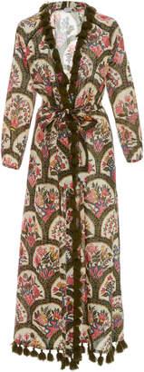 Rhode Resort Lena Tassled Wrap Dress
