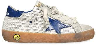 Golden Goose Superstar Mesh & Leather Sneakers