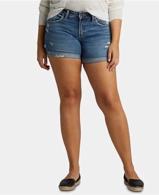 Silver Jeans Co. Sam Boyfriend Denim Shorts