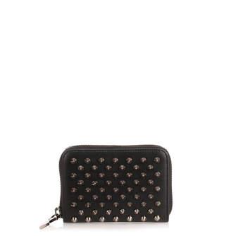 Christian Louboutin Panettone black spikes coin purse