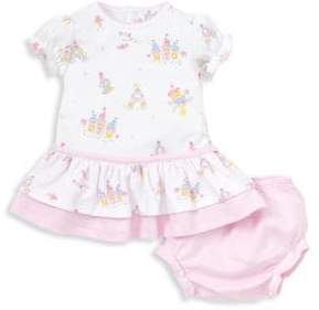 Kissy Kissy Baby's Candy Castle Print Dress