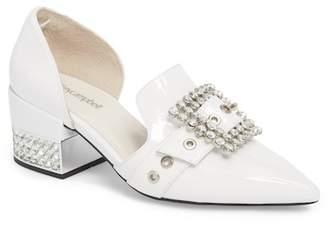 Jeffrey Campbell Zofia Jeweled Heel Pump (Women)