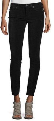 Paige Denim Verdugo Ultra-Skinny Ankle Jeans, Black Overdye $189 thestylecure.com