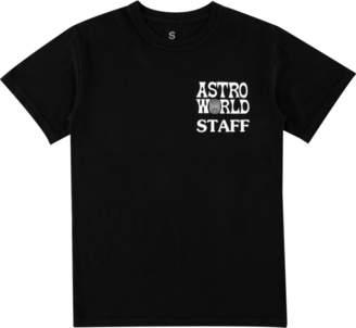Travis Scott Astroworld Staff T - Shirt - Black