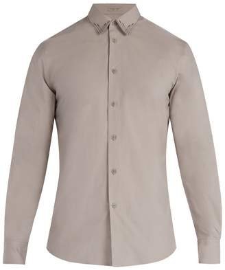 Bottega Veneta Stitched detail cotton shirt