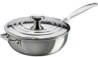 Le Creuset Signature 3-Ply Stainless Steel Non-Stick 24cm Chef's Pan