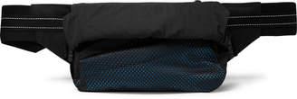 Bottega Veneta Leather-Trimmed Nylon And Mesh Belt Bag