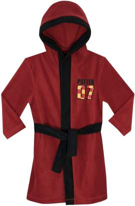 Harry Potter Boys Quidditch Dressing Gown