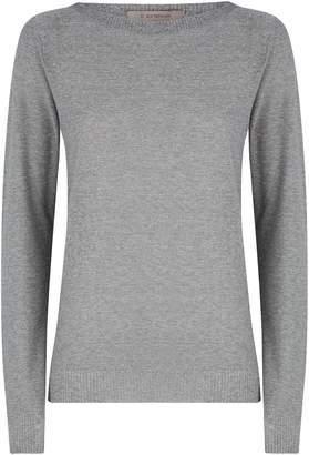 D-Exterior D.Exterior Metallic Thread Knitted Sweater
