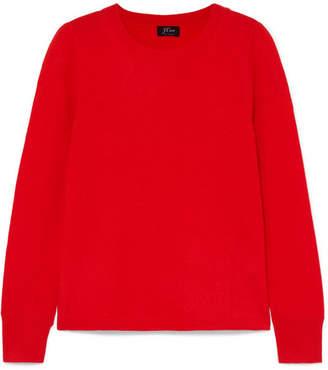 J.Crew Layla Cashmere Sweater - Bright pink