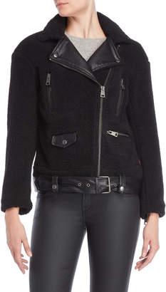 Levi's Sherpa Asymmetrical Oversized Jacket