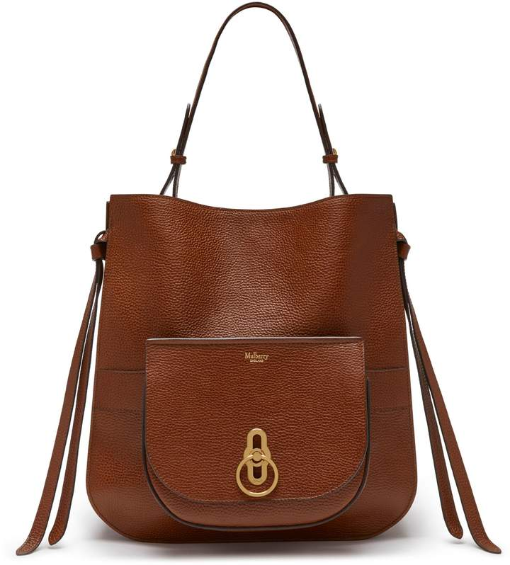 Mulberry Amberley Hobo Oak Natural Grain Leather - ShopStyle 21cb0e9d96fb3