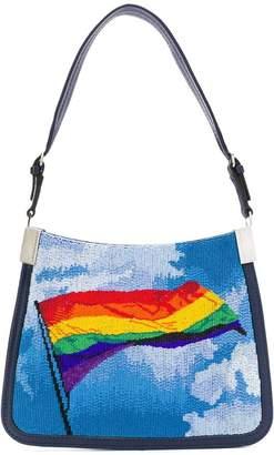 Marco De Vincenzo Starry Bandiera Rainbow tote