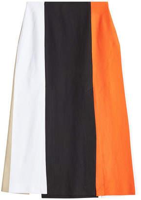 Rosetta Getty Split Panel Skirt