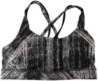Lululemon Black Cotton - elasthane Lingerie for Women