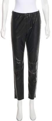 Isabel Marant High-Rise Vegan Leather Pants