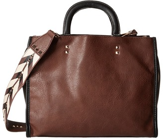 Steve Madden Printed Strap Tote $98 thestylecure.com