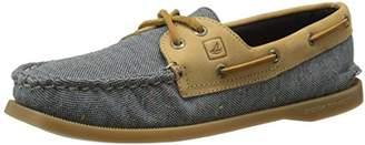 Sperry Women's A/O 2-Eye Flecked Canvas Boat Shoe